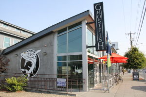 Ghostfish Brewing Co Outside